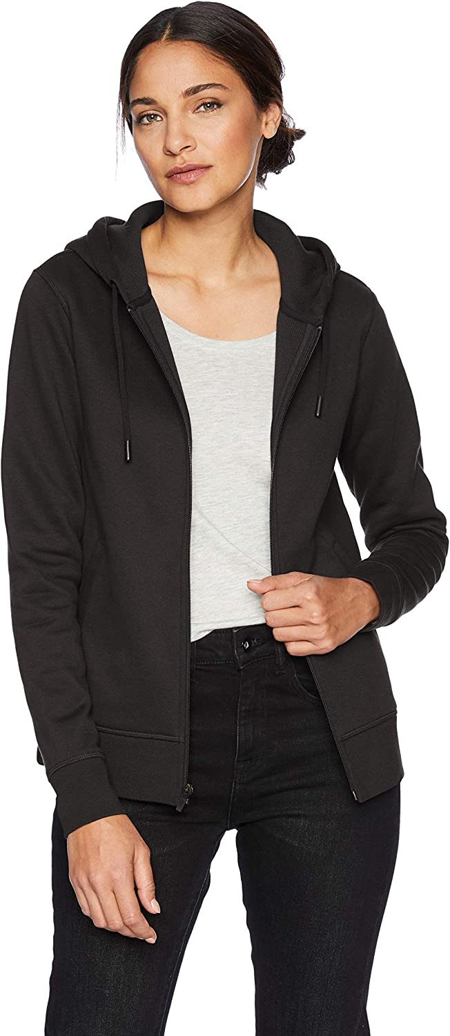 Essentials Women's Water-Repellent Thermal-Lined Full-Zip Hoodie: Clothing