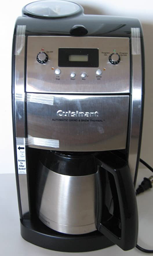 Amazon.com: Cuisinart dcc-590 Grind y Brew térmico 10-cup ...