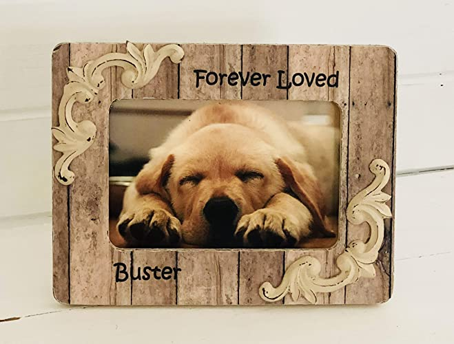 Amazoncom Personalized Dog Frames Personalized Pet Memorials