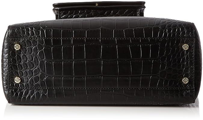 Hb T6.06 L03, Womens Handbag, Schwarz (Black), 8x32x31 cm (B x H T) Marc Cain
