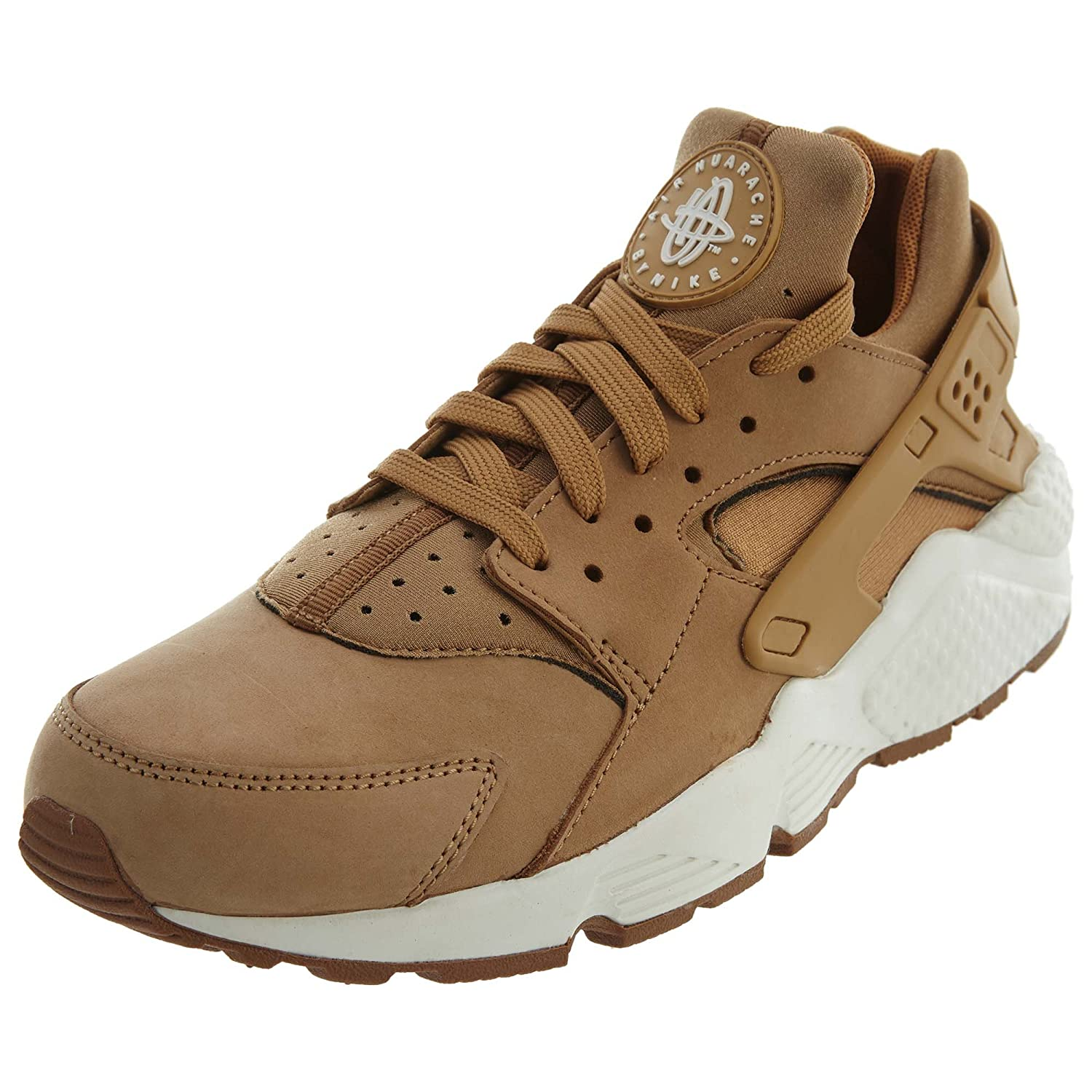 Nike Herren Air Huarache Run Prm Laufschuhe  40 EU|Flax Sail Gum Brown 202