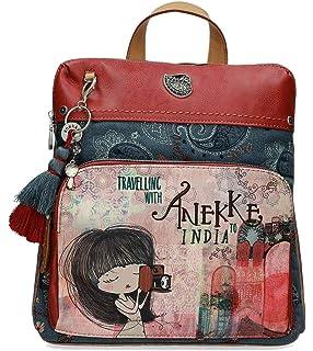 7039ca23135 Anekke Mochila de paseo con pañuelo Jane  Amazon.es  Zapatos y ...