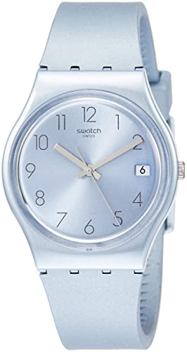 Amazon.com: Swatch Azulbaya GL401 Blue Silicone Swiss Quartz Fashion Watch: Watches