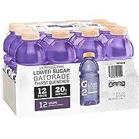12-Pack Gatorade G2 Thirst Quencher Grape 20 Ounce Bottles