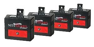 Nite Guard Solar Predator Control Light, 4-Pack