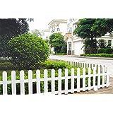 Worth Garden Clôture de jardin décorative en plastique Pour bordure de pelouse