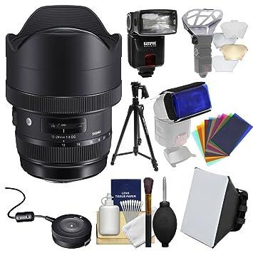 Sigma 12 - 24 mm f/4 Arte DG HSM Objetivo Zoom para Canon EOS ...