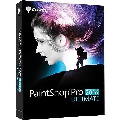 Corel PaintShop Pro 2018 Ultimate - Software de gráficos (Plurilingüe, Caja, Windows 10,Windows 10 Education,Windows 10 Education x64,Windows 10 Enterprise,Windows 10..., Win, 1000 MB, 2048 MB)