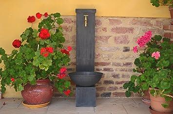 Misterzinc - Fontaine de jardin en zinc, ŒILLET: Amazon.fr: Jardin