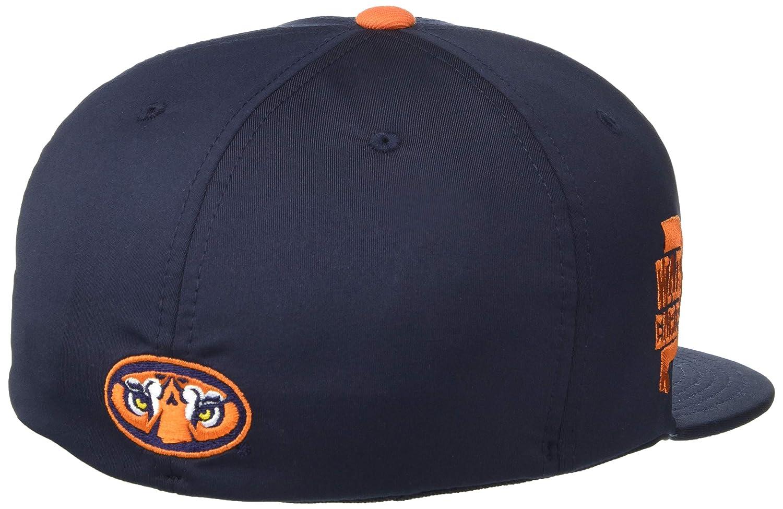 Primary Team Color NCAA Zephyr Auburn Tigers Mens Fleet Hypercool Performance Hat Small