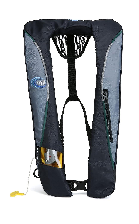 ★大人気商品★ MTI Adventurewear Gray/Gray Helios 2.0インフレータブルヨークスタイルPFDライフジャケット Universal (Chest 30\ (Chest Size : 30\ Dark Gray/Gray B00VFXWVM6, オオハルチョウ:70e74ed1 --- a0267596.xsph.ru