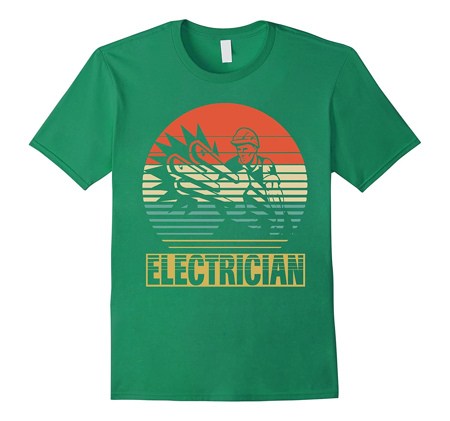 Vintage Shirt For Electrician. Gift For Who Love Electrician-RT