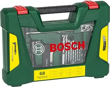 Bosch V-Line - Maletín de 68 unidades para taladrar y atornillar: Amazon.es: Bricolaje y herramientas