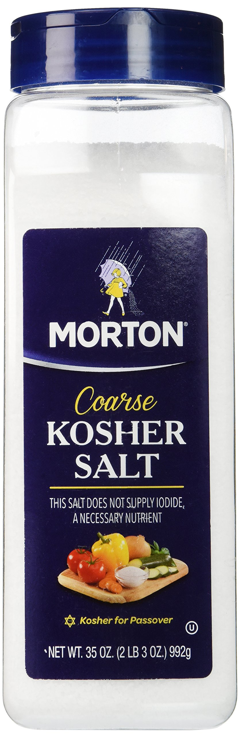 Morton Coarse Kosher Salt 35 oz.