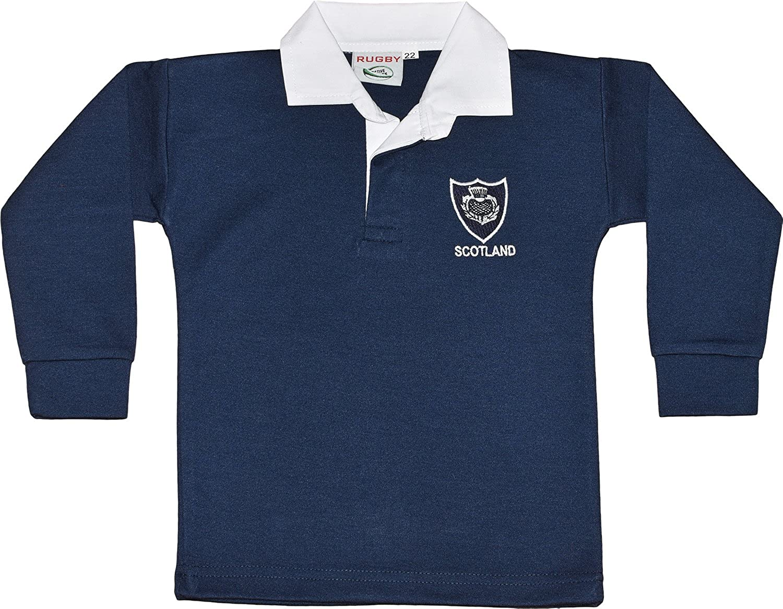 Unisex Niños Camiseta de Rugby. Recién Nacido niños niñas tamaños ...