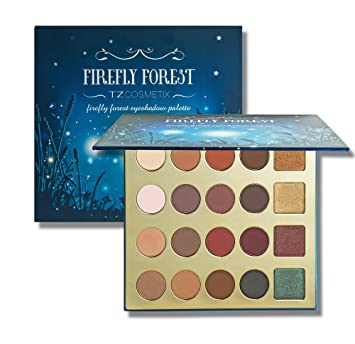 TZ COSMETIX - Firefly Forest Pro 20 Shade Clay Eyeshadow Palette -  including