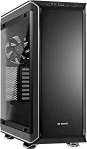 be quiet! Dark Base PRO 900 Silver Rev. 2, Full Tower ATX, 3 Pre-Installed Silent Wings 3 Fans, BGW16, Tempered Glass Window, RGB LED Illumination