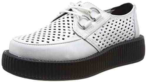 T.U.K. Viva Low Round Creepers - Zapatillas Unisex: Amazon.es: Zapatos y complementos