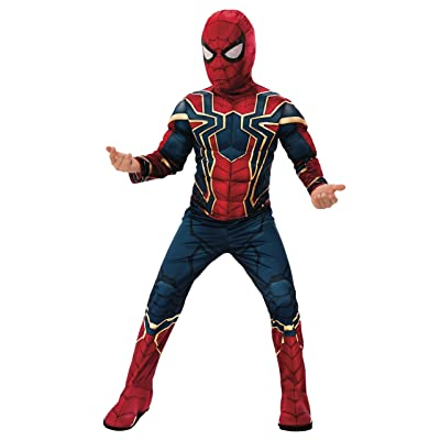 Rubie's Marvel: Avengers Endgame Child's Deluxe Iron Spider Costume & Mask, Small: Toys & Games