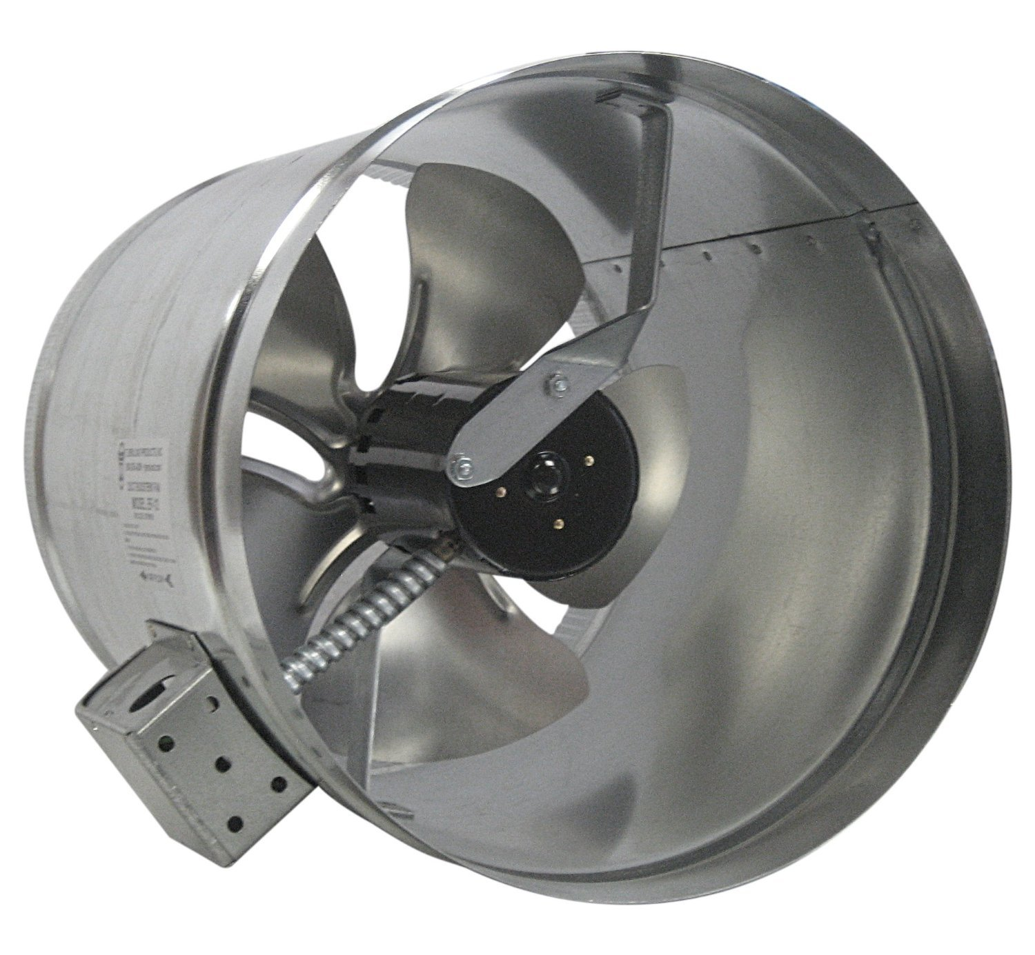 If your bathroom exhaust fan has become ear splitting over time it s - Tjernlund Dbm4 Duct Booster Fan For 4 Flex Or Metal Duct 100 Cfm Amazon Com Industrial Scientific