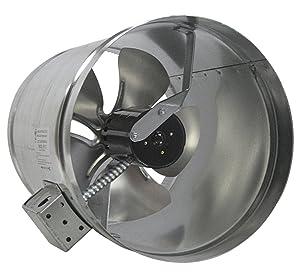 """Tjernlund EF-12 Duct Booster Fan, 800 CFM, 12"""""""