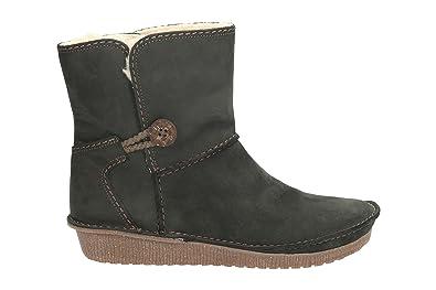 Clarks Lima Caprice Mujer corta Botas, color negro, talla 43 EU: Amazon.es: Zapatos y complementos
