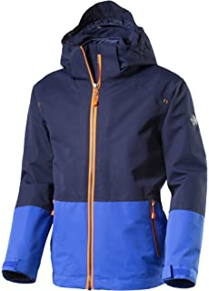 McKinley Jungen Kinder Winter Doppeljacke Kids Moto 3in1 Jacke Anthracite