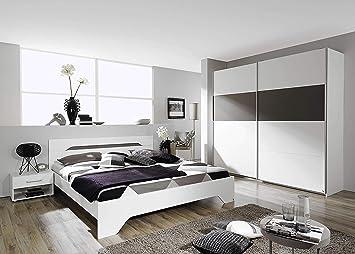 Camera Da Letto Bianco E Grigio : Avanti trendstore rubi camera da letto completa contiene