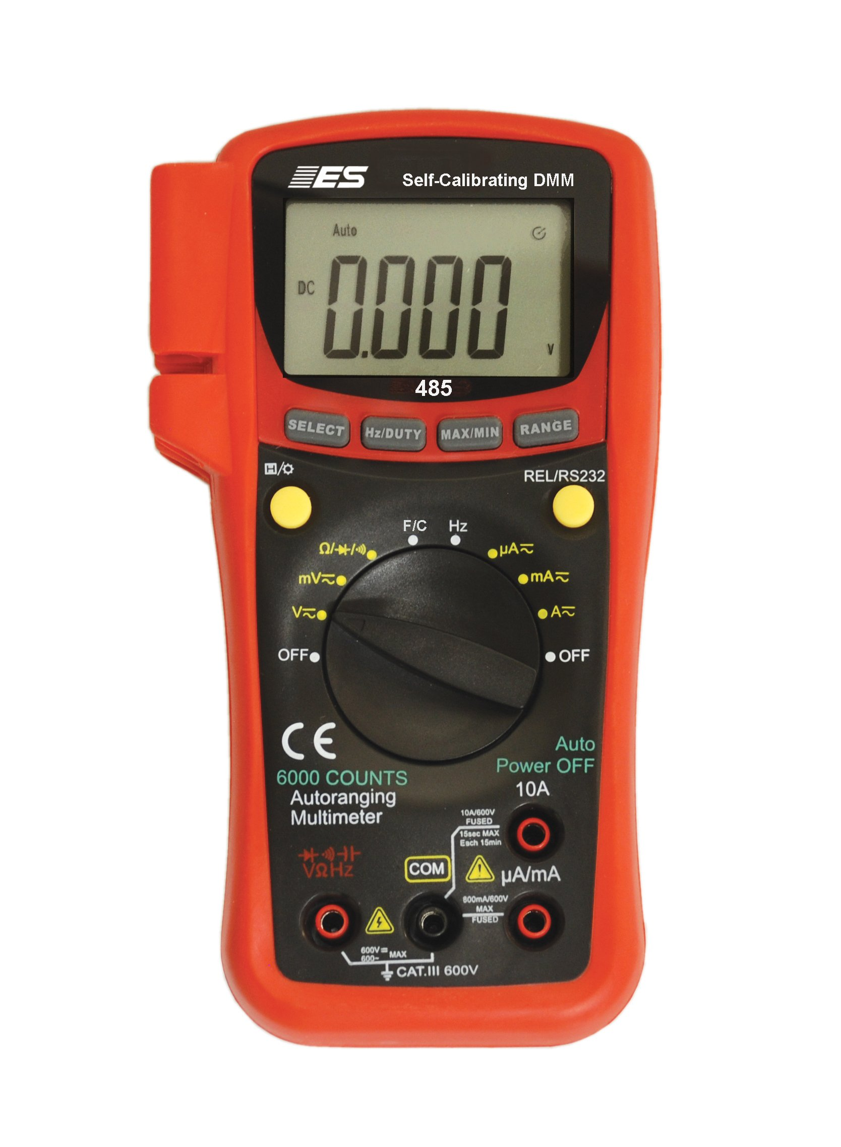 Electronic Specialties 485 Self Calibrating True RMS Digital Multimeter