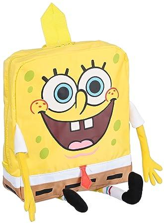 - Bob Esponja mochila 4634, bolsa de los niños, amarillo (amarillo/beige), 24x10x27 cm: Amazon.es: Equipaje