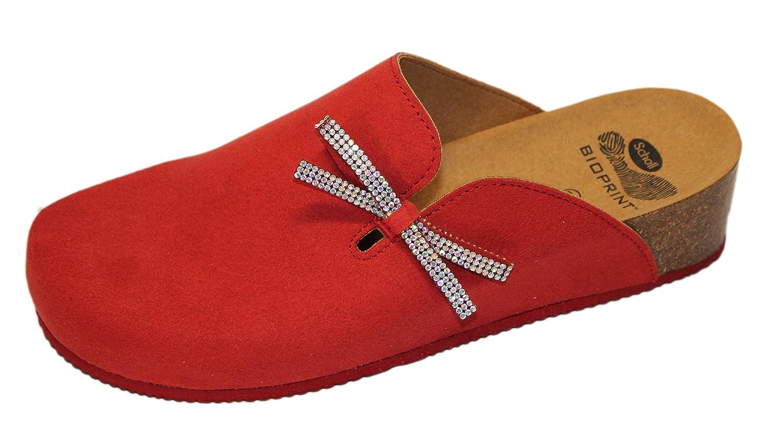 DR.SCHOLL Mujer pantufla 41 EU|Rojo En línea Obtenga la mejor oferta barata de descuento más grande