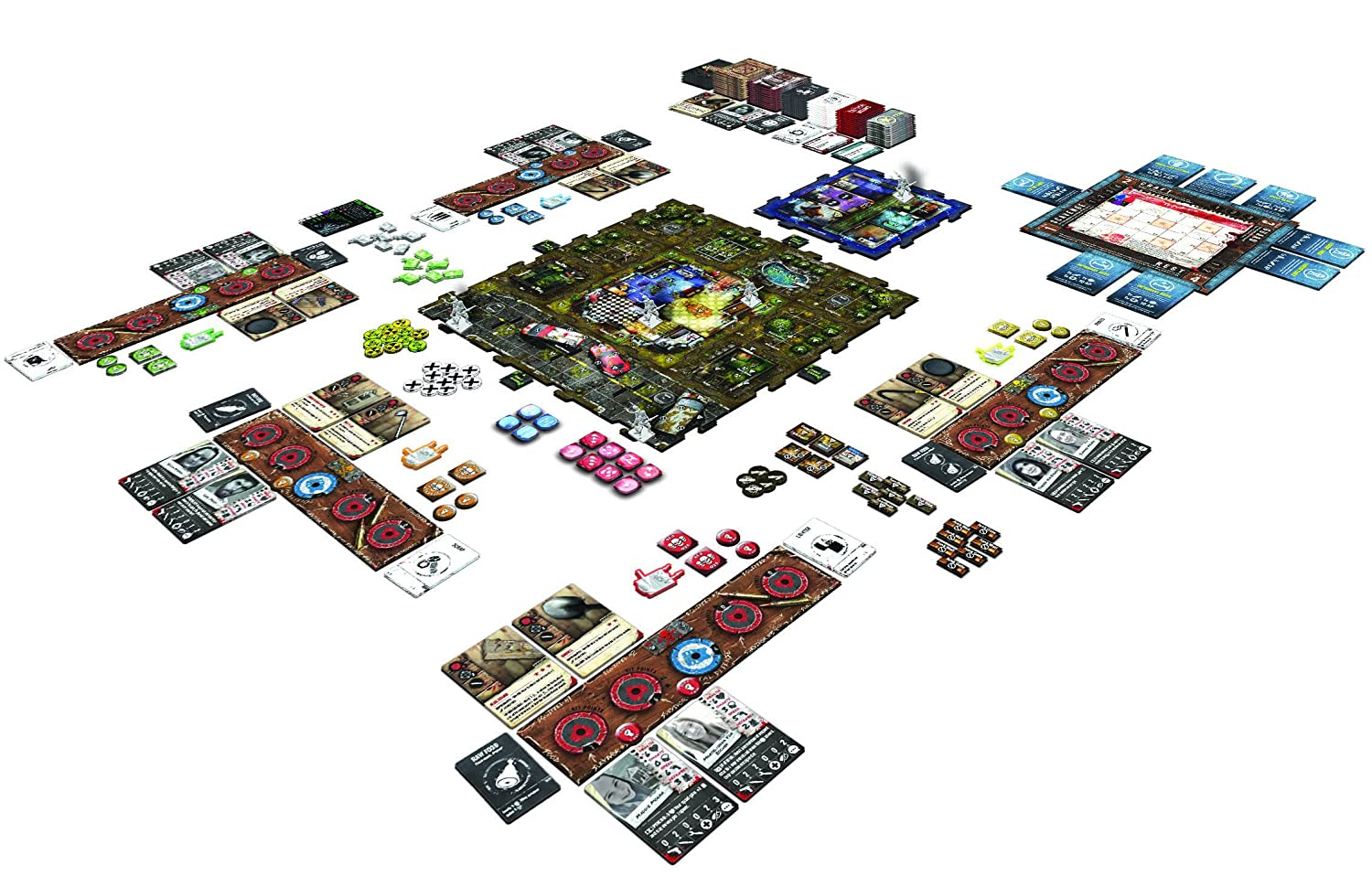 GreenBrier Games Zpocalypse 2 Defend The Burbs Board Game Publisher Services Inc PSI ZB01