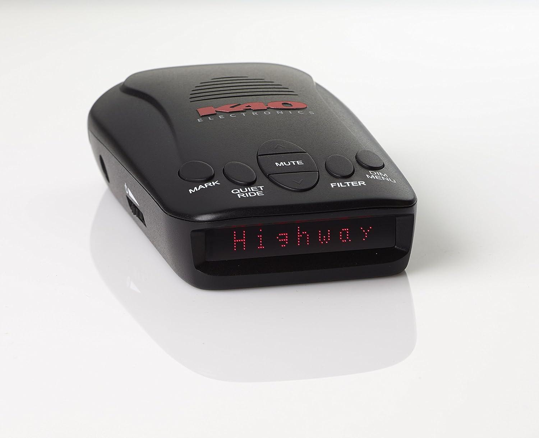 K40 RLS2 Portable Radar/Laser Detector with GPS