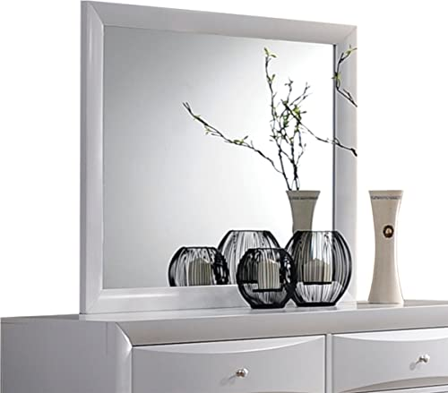 ACME Furniture Ireland 21705 Mirror, White