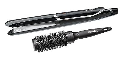 BaByliss I-Pro 235 Plancha de pelo Caliente Negro - Moldeador de pelo (Plancha
