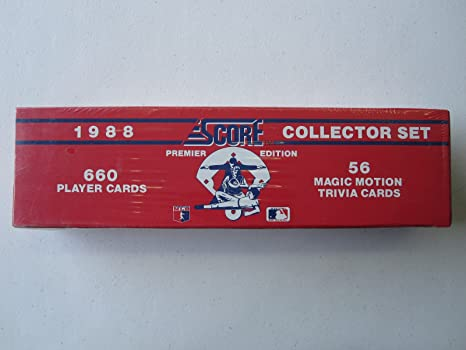 1988 Score Baseball Factory Sealed Complete Set 1 660 With