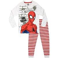 Marvel Pijamas de Manga Larga para niños El Hombre Araña
