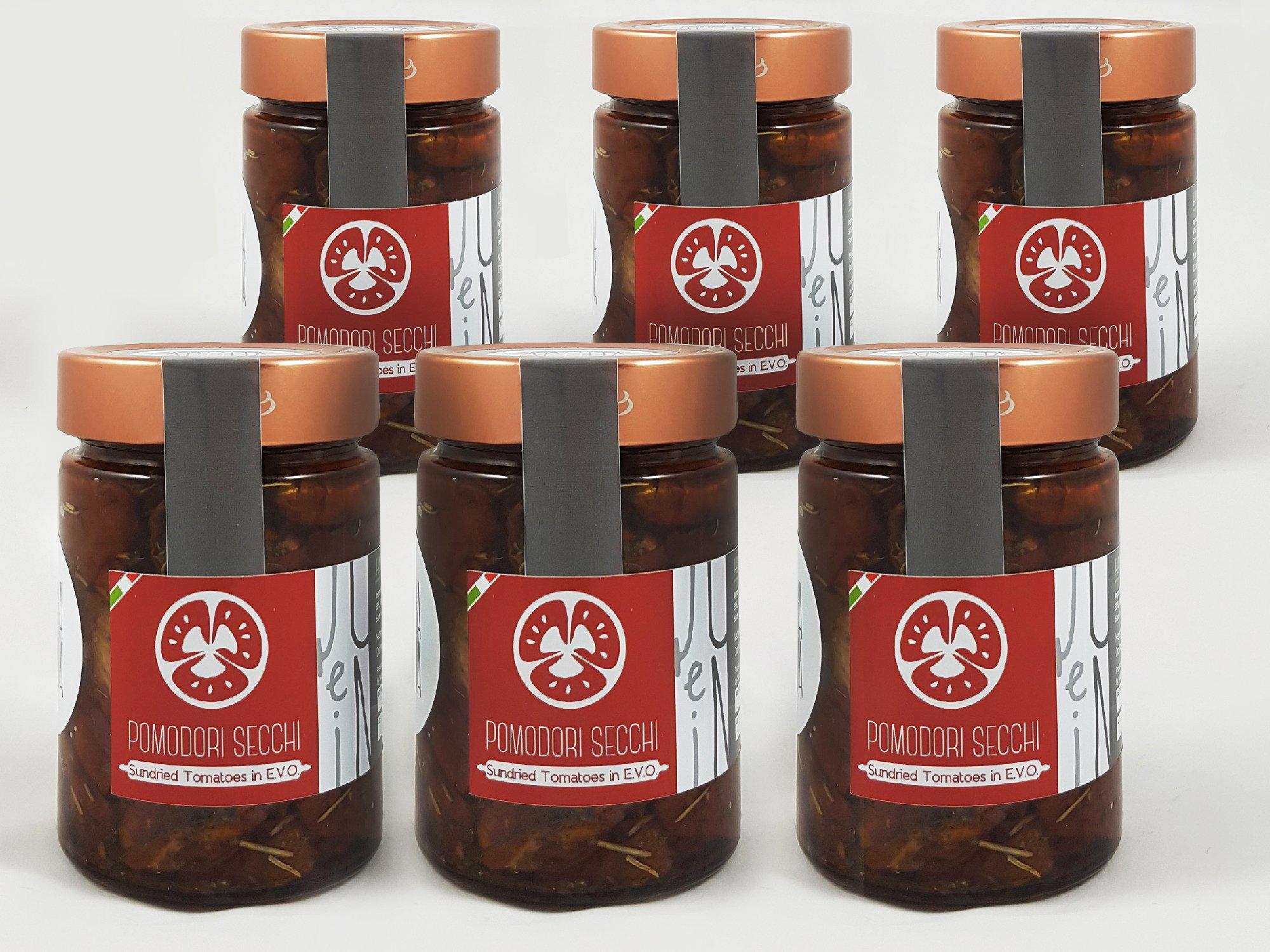 Sundried Tomatoes in E.V.O. Oil pack of 6