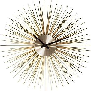 Stilnovo G133719GOLD Urchin Clock-Gold, Pack of 1