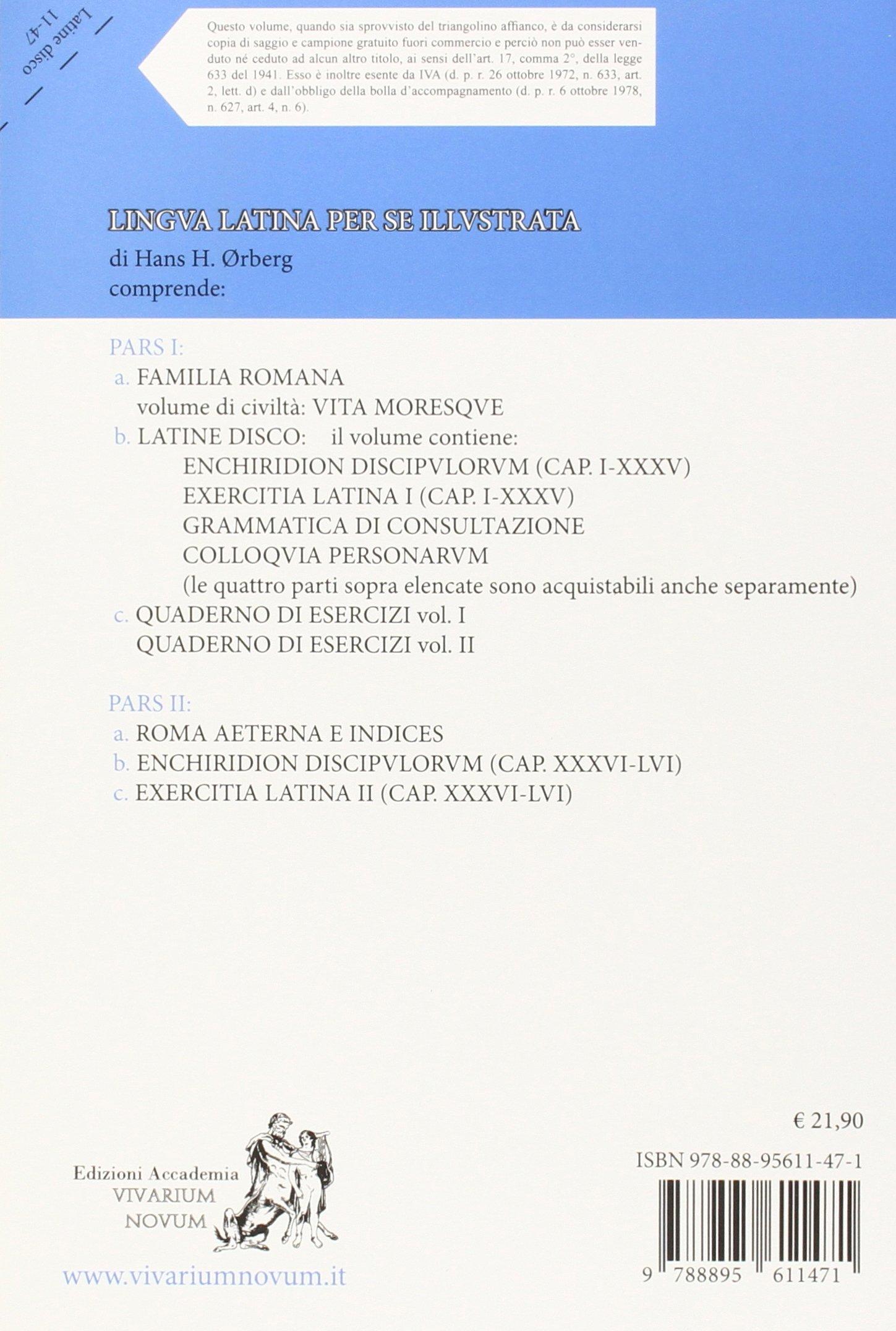 Lingua latina per se illustrata. Ediz. compatta. Per le Scuole superiori. Con espansione online