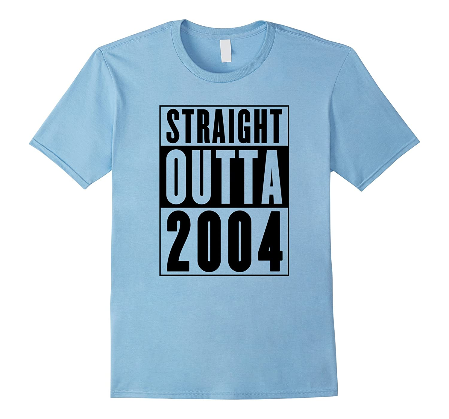 Straight Outta 2004 Cool Birthday Gift T-Shirt-T-Shirt