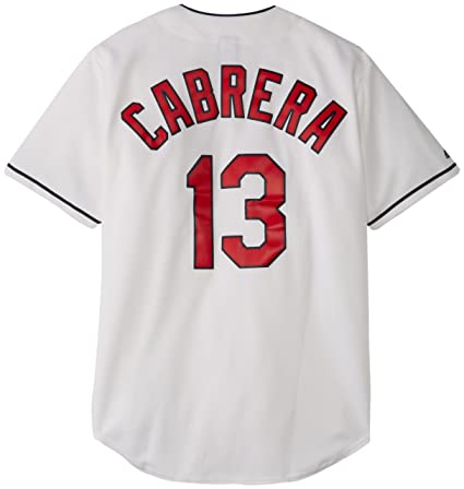 newest 4c2d3 d5633 MLB Cleveland Indians Asdrubal Cabrera 13 Jersey, White ...