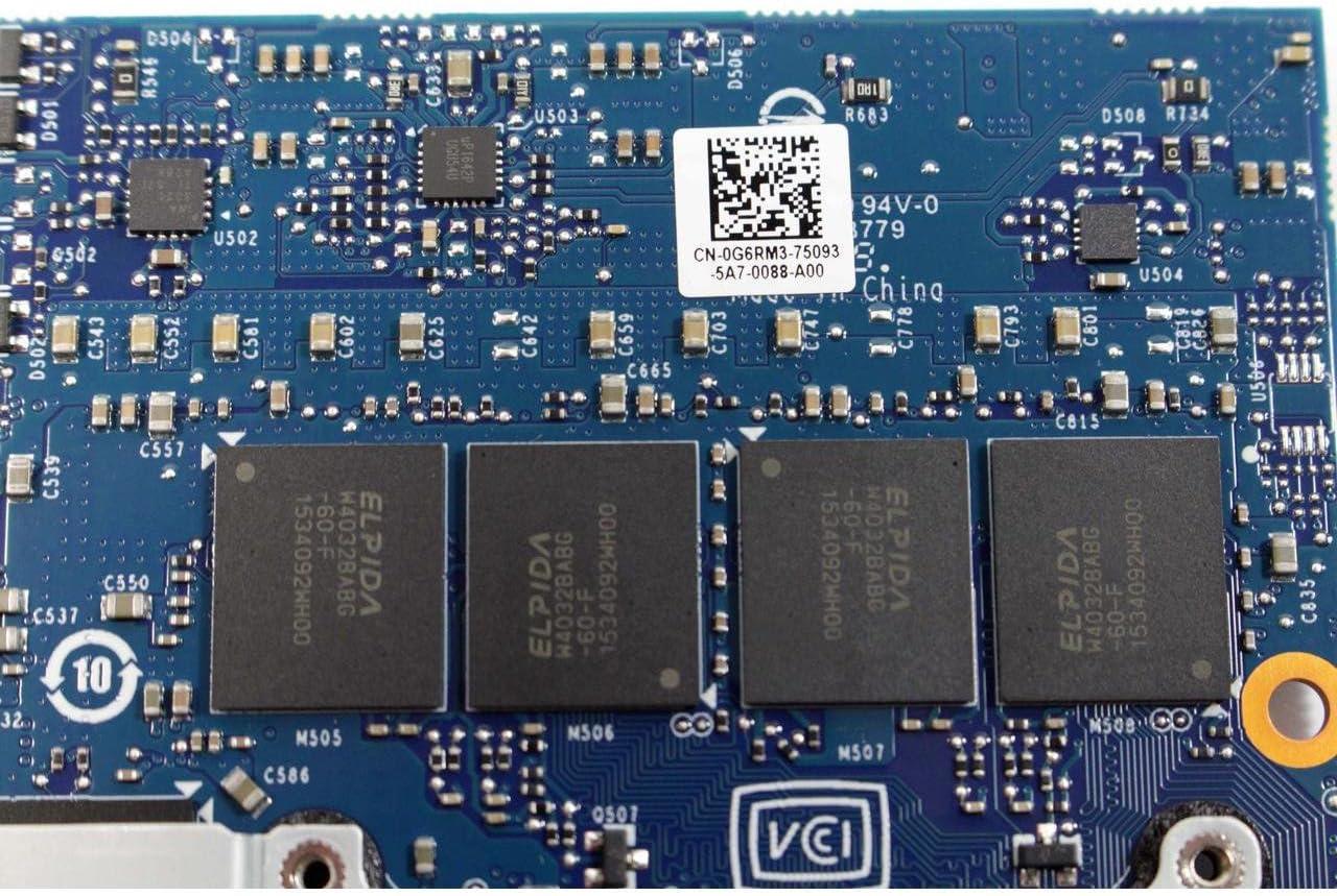 PC Parts Unlimited 4MJ1K AMD Radeon R9 M290X 4GB GDDR5 MXM Alienware 17 18 Video Card 4MJ1K