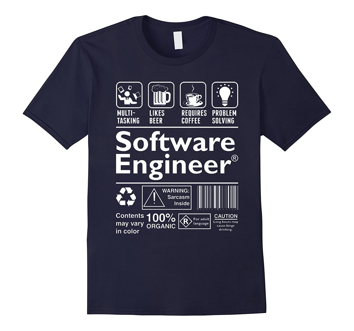 Beer Coffee Problem Solving Software Engineer shirt-TH