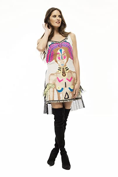 El Armario De Lulú Vestido Mayari Corto Estilo Casual Estampado