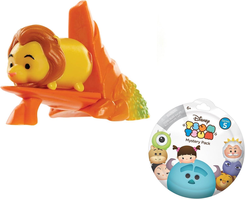 Disney Tsum Tsum Mystery Pack Medium Figure LION KING Mufasa with Accessory
