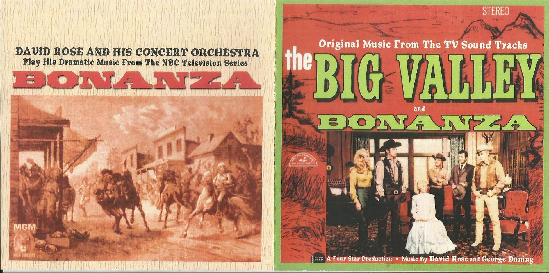 the big valley and bonanza original music from the tv sound tracks