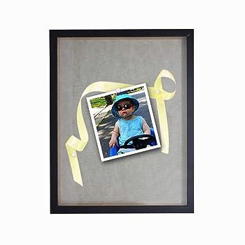 Amazoncom Solaya Shadow Box 12x15 Black Wood Acrylic