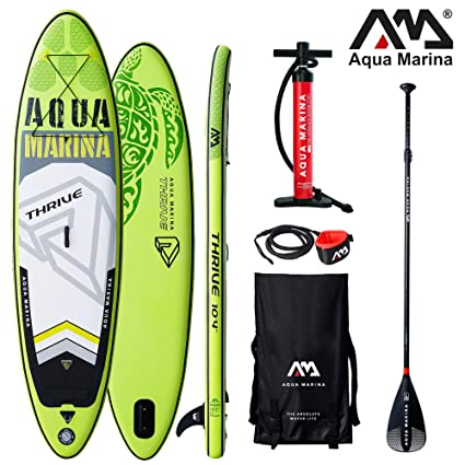 Aqua Marina Thrive - Tabla de Surf Hinchable para Paddle Surf (315 x 79 x