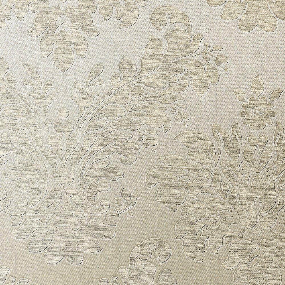 ルノン 壁紙46m フェミニン ダマスク ベージュ パターンタイプ RH-9659 B01HU2SVEW 46m|ベージュ